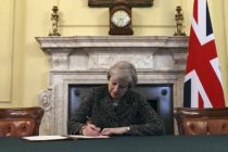 BREXIT. Marea Britanie se retrage din Uniunea Europeana dupa 44 de ani. Theresa May: Nu putem da inapoi!