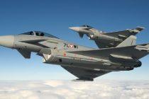 Avioane de vanatoare din Marea Britanie executa misiuni la Baza Militara Mihail Kogalniceanu