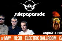 Concert Suie Paparude si Argatu' pe 13 mai la Londra
