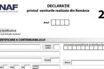 Romanii din strainatate trebuie sa depuna declaratiile de venit (Formularul 200) pana la 25 mai