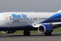 Un avion Blue Air care plecase de pe Aeroportul Henri Coanda a suferit o avarie la unul din motoare in timpul zborului