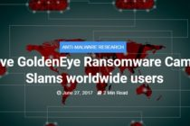 GoldenEye/Petya ransomware affect several companies from UK, Ukraine, Russia and Denmark – Bitdefender Update