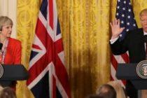 Theresa May ii va cere lui Trump sa evite protestatarii din centrul Londrei in timpul vizitei pe care o va efectua in Marea Britanie in luna iulie