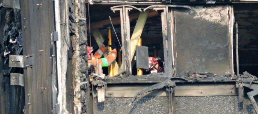 GRENFELL TOWER: Politia metropolitana a anuntat ca au fost gasite 87 de ramasite umane, iar 21 de cadavre au fost oficial identificate. Cautarile continua