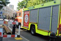 Londra – Incendiu la un centru de agrement din Highbury, zeci de pompieri au fost mobilizati pentru a stinge focul