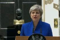 Theresa May makes statement after meeting Queen: I've just been to see her majesty the Queen, and I will now form a government