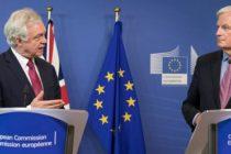 O noua runda de negocieri pentru Brexit s-a soldat cu un esec. David Davis: Disensiuni semnificative in discutiile dintre Marea Britanie si UE