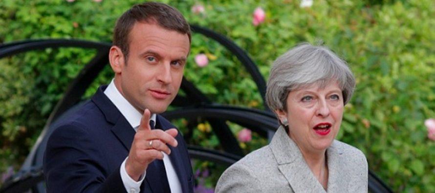 Theresa May se va intalni cu Macron luna aceasta, inainte de negocierile privind un acord comercial UE – Marea Britanie