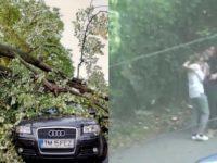 Romania a fost lovita de o furtuna devastatoare, cel putin 8 morti si 140 de raniti