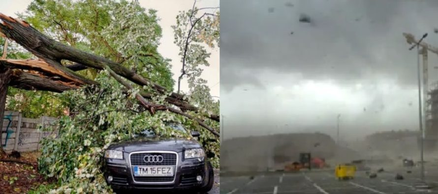 Violent storm kills eight in Romania and injuring dozens more