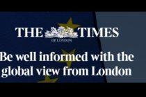 BREXIT. Romania blocheaza negocierile pentru iesirea Marii Britanii din UE, scriu jurnalistii de la The Times