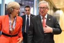 BREXIT. Acord intre UE si Marea Britanie in prima faza de negociere, care se incheie saptamana viitoare la Summitul UE de la Bruxelles