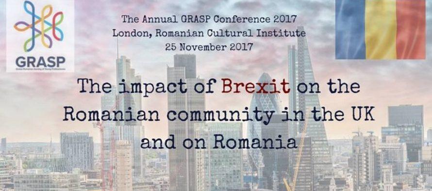 Impactul Brexit-ului asupra comunitatii romanesti din UK si asupra Romaniei se dezbate pe 25 noiembrie la Londra