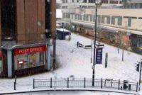 Zapada la Londra si in mai multe regiuni din Marea Britanie. Trafic dat peste cap si zboruri anulate pe aeroporturi
