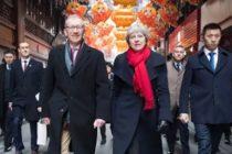 Marea Britanie  a semnat contracte comerciale de 10 milioane de euro cu China dupa vizita premierului in Asia