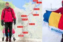 Tiberiu Useriu a castigat Maratonul 6633 Arctic Ultra de la Cercul Polar. La sosire, Tibi a fost intampinat cu imnul national al Romaniei