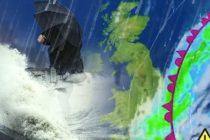 Alerta meteo in Marea Britanie de ploi torentiale si chiar ninsori. Un val de aer polar din Rusia ajunge la Londra la inceputul saptamanii
