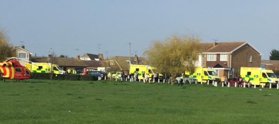 Essex: Six pedestrians have been injured following a collision with a car in Canvey