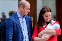 Prince Louis este numele bebelusului regal al Marii Britanii, a anuntat Palatul Kensington