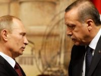 Vladimir Putin had a telephone conversation with Recep Tayyip Erdogan