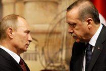 Vladimir Putin had a telephone conversation with Recep Tayyip Erdogan