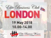 Elite Business Club se reuneste, sambata, la Londra. Interviu cu Gabriela Dragomir, ambasadoarea organizatiei: Evenimentele noastre antreneaza viitorul antreprenor sa fie cat mai vizibil pe piata din Marea Britanie. Ii incurajez pe romani sa nu uite de visele lor