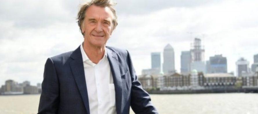 Magnatul Jim Ratcliffe, fiul unui tamplar, devine cel mai bogat om din Marea Britanie, potrivit listei anuale publicate de Sunday Times