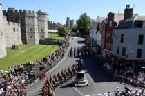 Royal Wedding 2018. Prince Harry and Meghan Markle were the only key figures missing from a dress rehearsal in Windsor yesterday ahead of the royal wedding