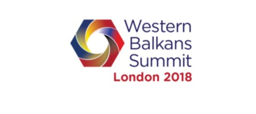 Western Balkans Summit in London on 10 July 2018