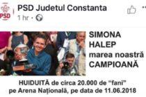 Liviu Dragnea l-a dat afara pe coordonatorul online al PSD George Harabagiu, dupa colajul foto potrivit caruia Halep ar fi fost huiduita pe Arena Nationala