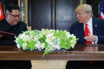 Intalnire istorica intre Trump si Kim Jong Un. Liderul Coreei de Nord: Am decis sa lasam trecutul in urma. Liderul SUA: A fost mai bine decat isi putea imagina oricine