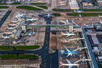 Aterizare de urgenta pe un aeroport din Londra, mai multe zboruri au fost deviate