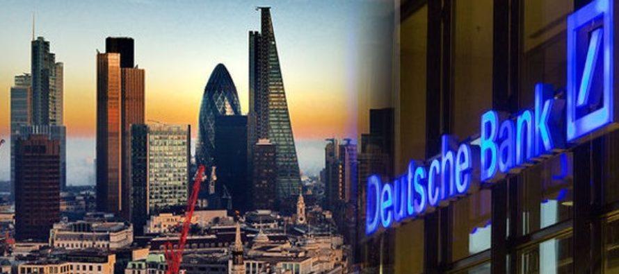 Deutsche Bank, avertisment pentru Marea Britanie: Ne asteptam ca si alte banci sa ne urmeze