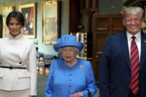 Trump a lasat-o pe Regina Marii Britanii sa-l astepte un sfert de ora in picioare pe o caldura toropitoare