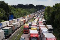 Brexit ar putea transforma autostrada M20 din Marea Britanie intr-o parcare uriasa pentru mai multi ani dupa iesirea din UE