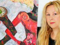 Interviu cu Mihaela Panaitescu, pictor contemporan si fashion-artist. Pictura romaneasca, in variatiuni de emotii si ritmuri la Londra