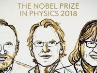 Premiul Nobel pentru Fizica a fost atribuit pentru descoperiri in domeniul opticii si laserului. Laureatii sunt Arthur Ashkin, Gérard Mourou si Donna Strickland