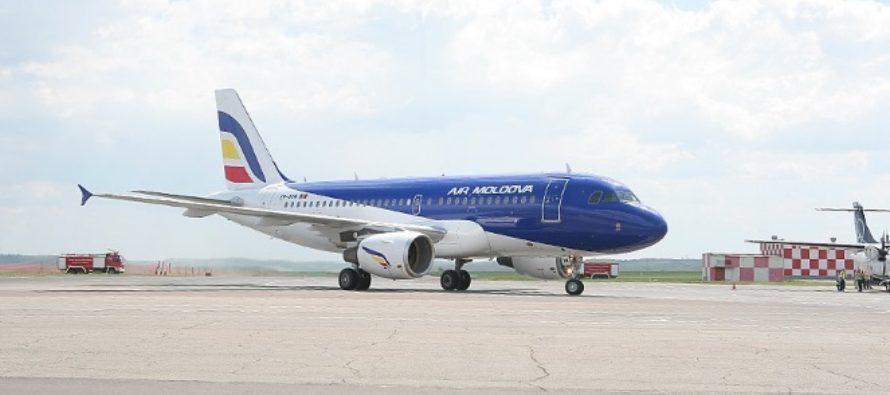 Air Moldova, compania aeriana nationala a Rep. Moldova, este cumparata de Civil Aviation Group