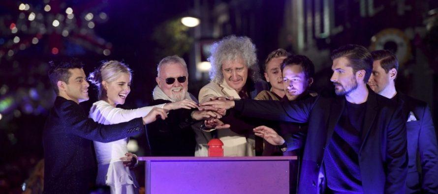 Filmul Bohemian Rhapsody a avut premiera mondiala pe Wembley Arena, in prezenta legendarilor Brian May si Roger Taylor