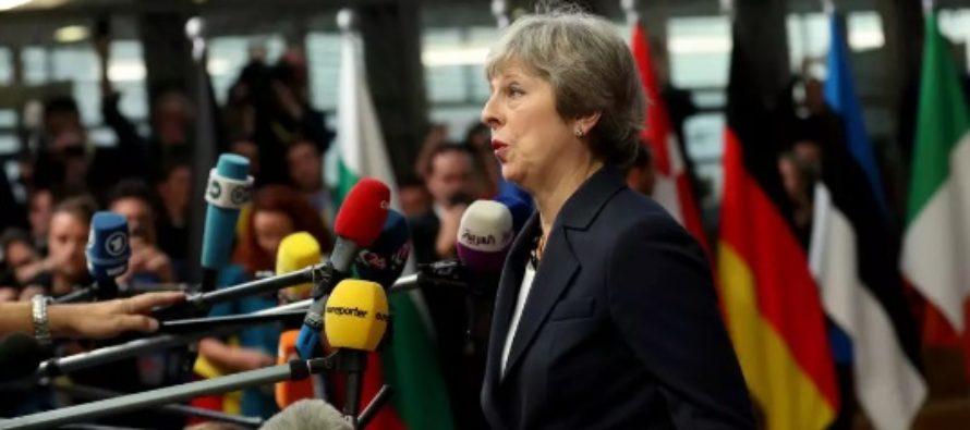Theresa May revine la Bruxelles pentru a cere redeschiderea acordului pentru Brexit