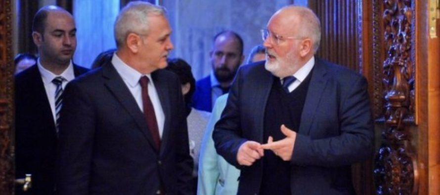 Romania este in centrul sesiunii plenare a Parlamentului European. Comisia Europeana critica guvernarea PSD, in replica social-democratii au lansat discursuri anti-UE