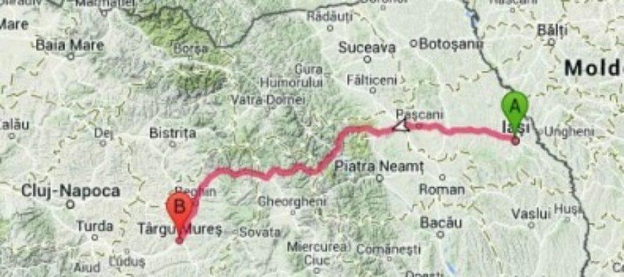Autostrada Iasi – Targu Mures a primit unda verde! Autostrada A8 va incepe cu un nou pod peste raul Prut si se va termina printr-o conexiune cu autostrada A3 Brasov-Bors