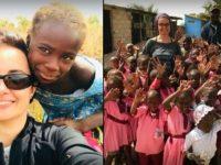 Elena Edwards, o romanca stabilita in Marea Britanie, in misiune umanitara in Africa. A construit doua scoli in Gambia si acum strange fonduri pentru a aduce apa intr-un sat