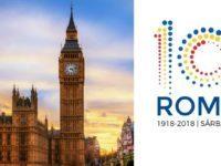 Centenarul Marii Uniri, marcat in Marea Britanie. O serie de evenimente vor avea loc in noiembrie, momentul culminant va fi o receptie sustinuta in Parlamentul britanic