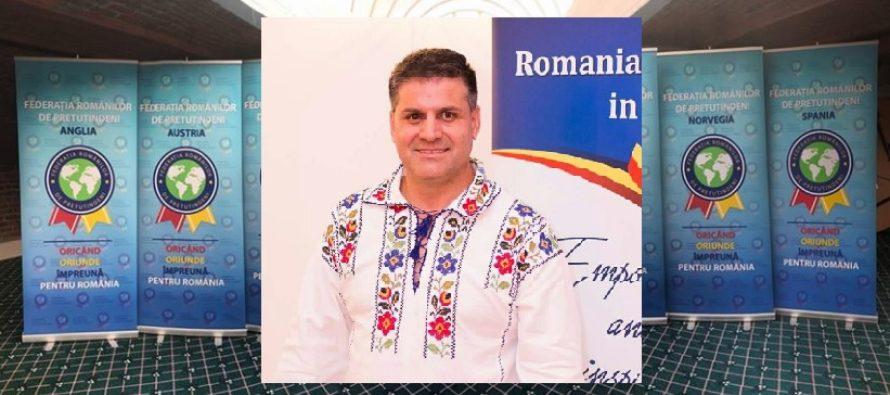 INTERVIU. Presedintele Federatiei Romanilor de Pretutindeni, Emanuel Cioaca: Imi doresc ca Romania sa ajunga la fel ca Norvegia si niciun roman sa nu mai plece din tara
