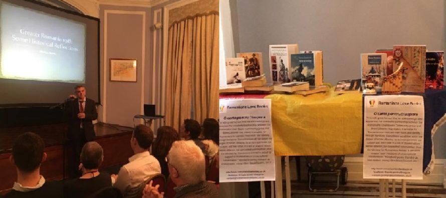 Londra a celebrat Ziua Nationala in Anul Centenarului. ICR l-a avut ca invitat pe unul dintre cei mai cunoscuti cercetatori ai problematicii identitare din mediul academic britanic – profesorul Marius Turda