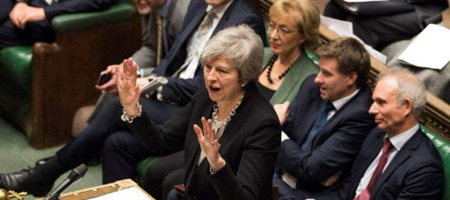 """BREXIT. Anunt de ultima ora facut de Theresa May in Parlamentul Marii Britanii: Ultima varianta este prelungirea """"limitata, pentru scurt timp, a negocierilor"""" cu Bruxellesul"""