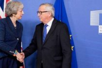 BREXIT – Intalnirea dintre Theresa May si liderii UE nu a clarificat nimic. Premierul britanic a venit cu promisiuni, europenii nu sunt dispusi sa renegocieze acordul privind Brexit