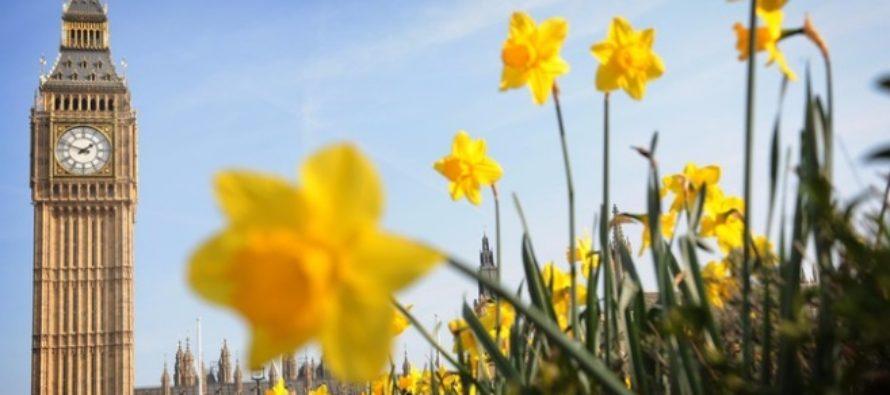 Vreme deosebit de calda in Marea Britanie. Vanturile calde din sud-est vor aduce 25 de grade Celsius in weekend