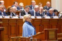 Motiunea de cenzura impotriva Guvernului Dancila va fi votata sambata in Parlamentul Romaniei